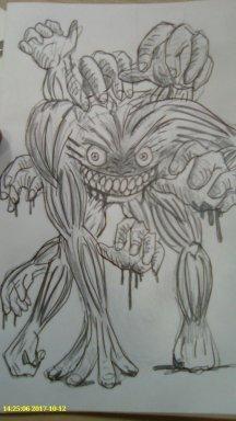Monstruo. Por Kei Yi