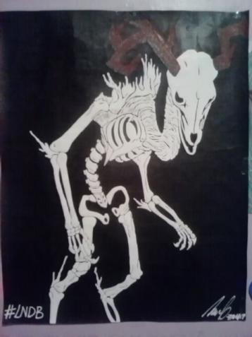 El Monstruo de Hueso. Por Luis González